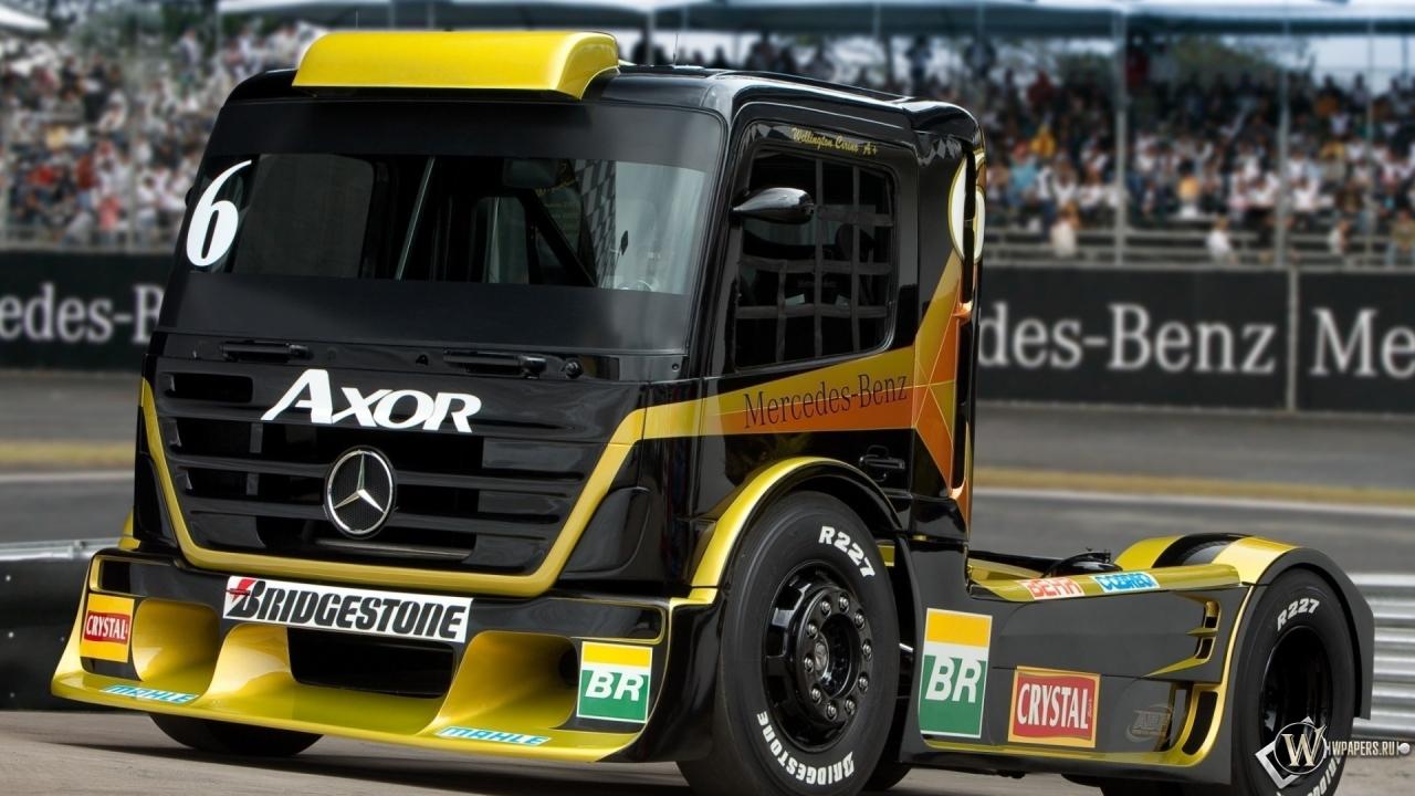 Обои грузовик, гонка. Автомобили foto 19
