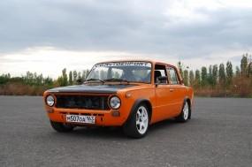 Обои Оранжевая копейка: Копейка, ВАЗ-2101, ВАЗ