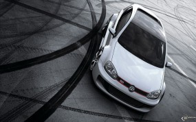 Обои Volkswagen Golf GTi W12 Concept: Volkswagen Golf, VolksWagen