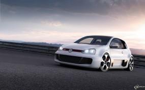 Обои Volkswagen Golf GTi W12 Concept: Concept, Volkswagen Golf, VolksWagen