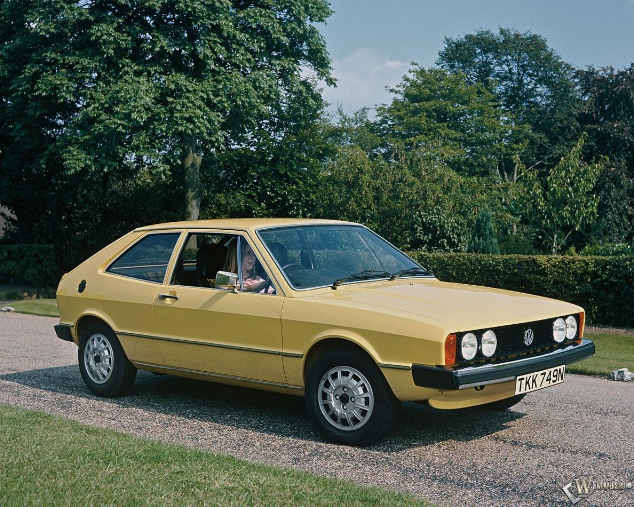 Volkswagen Scirocco (1974-1984) 1280x1024