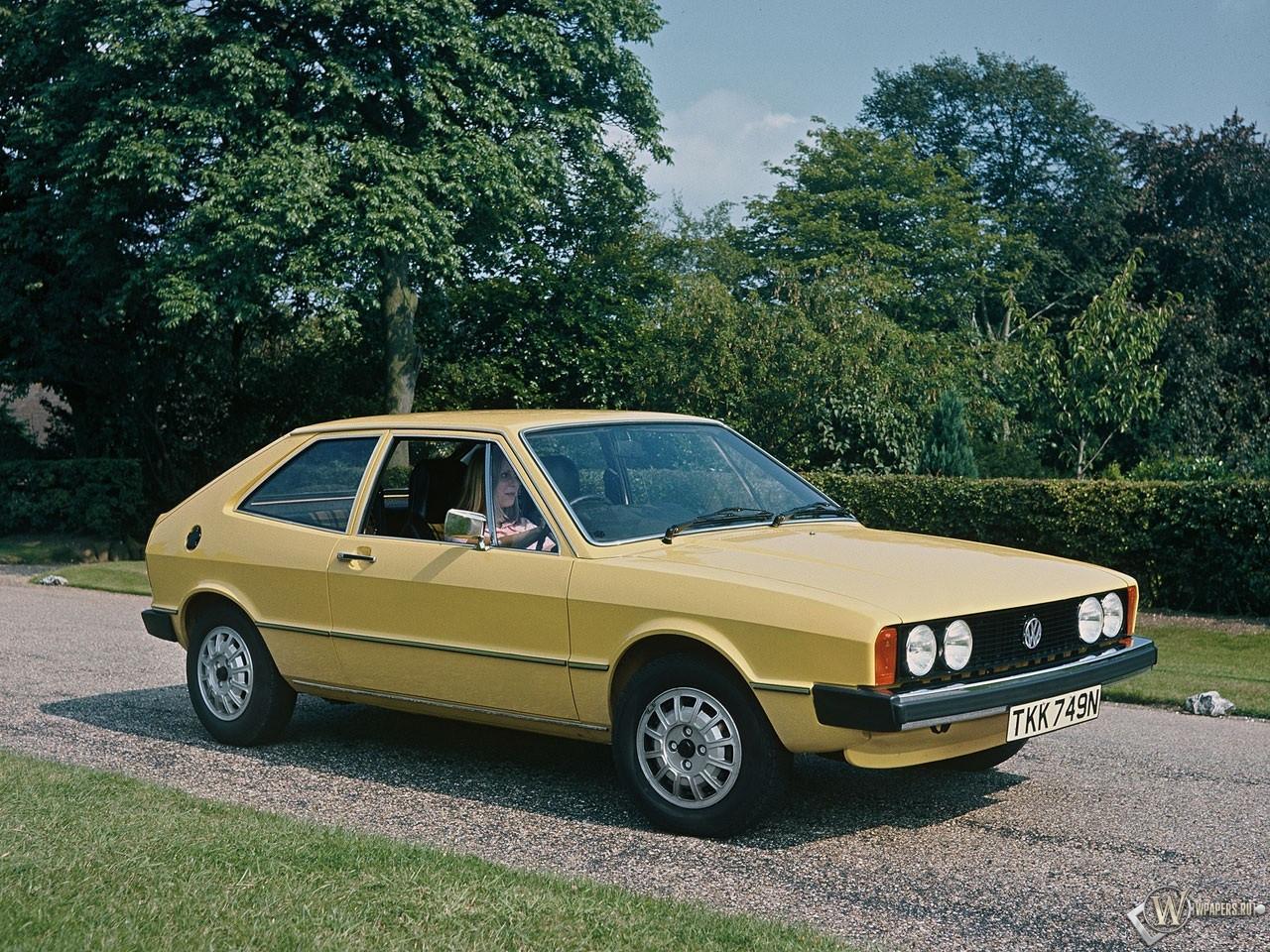 Volkswagen Scirocco (1974-1984) 1280x960