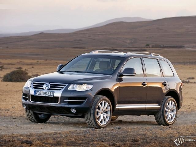 Volkswagen Touareg off-road