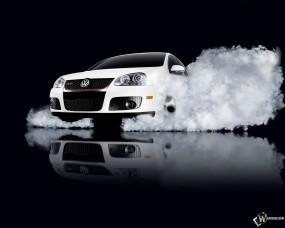 Обои VolksWagen жгет резину: Авто, Volkswagen, Auto, Дым, Фольксваген, VolksWagen