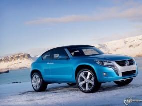 Обои VolksWagen Tiguan: Зима, Авто, Снег, Volkswagen, Volkswagen Tiguan, Фольксваген, VolksWagen