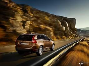 Обои Volvo XC60: Скорость, Дорога, Volvo XC60, Volvo