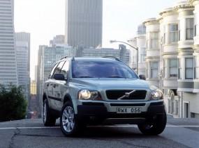Обои Volvo XC90: Город, Volvo XC90, Volvo