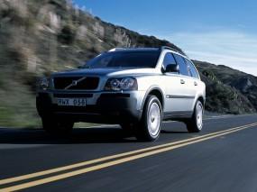 Обои Volvo XC90: Шоссе, Трасса, Volvo XC90, Volvo