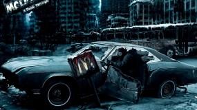 Обои Разбитая машина: Авто, Хлам, Макдональдс, Другие марки