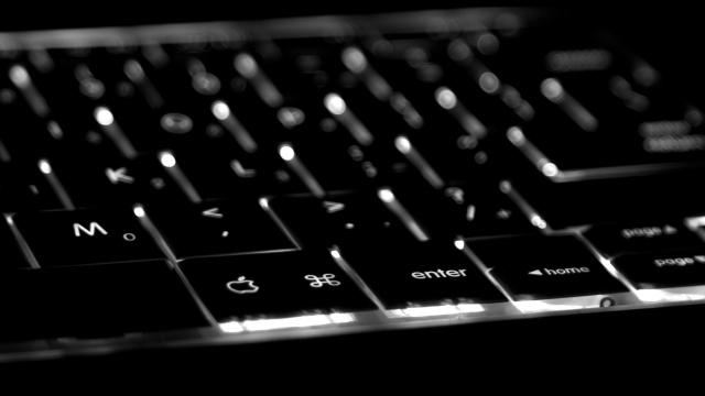 Чёрная клавиатура