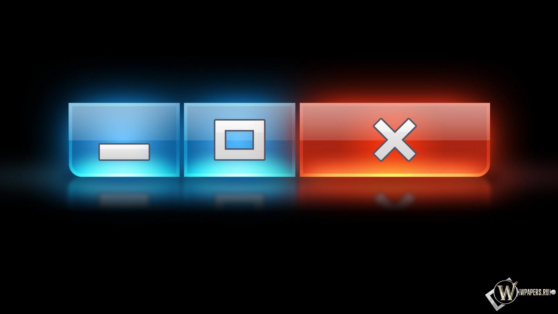 Кнопки Windows 1920x1080