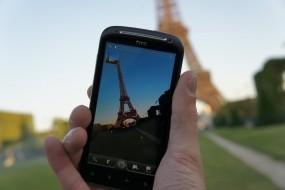 Обои HTC: Эйфелева башня, Телефон, HTC, Компьютерные