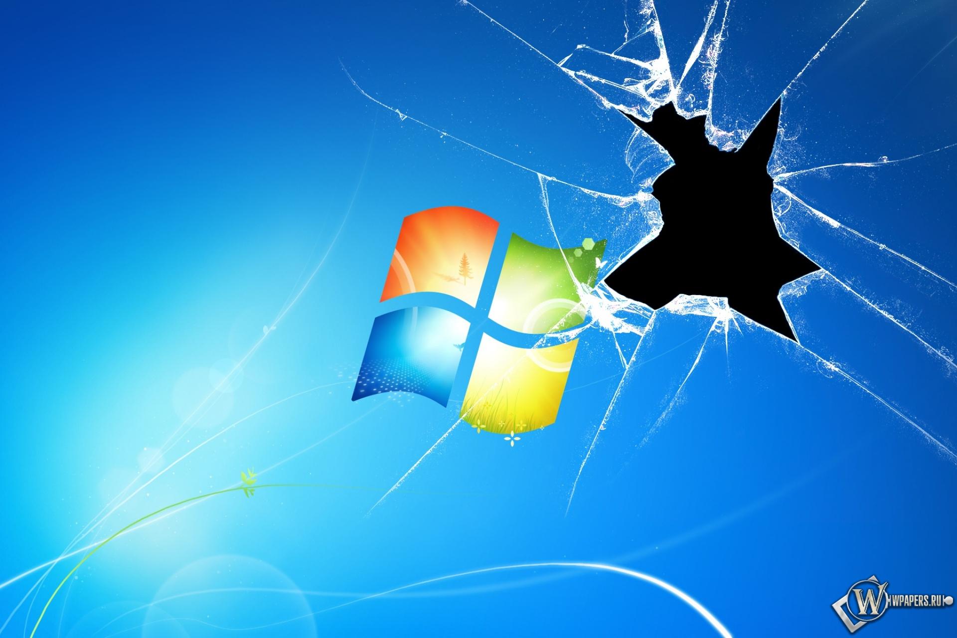 Обои разбитый экран для рабочего стола