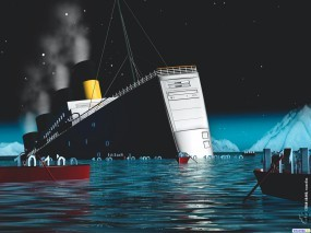 Обои Системный блок Титаник: , Компьютерные-Фэнтези