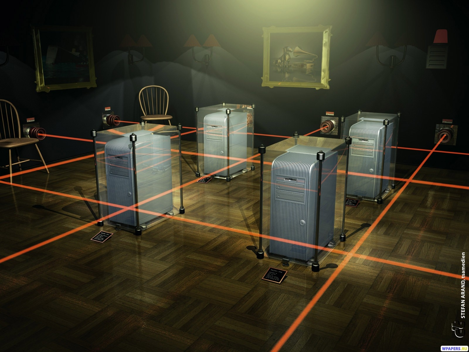 3D Серверная 1600x1200
