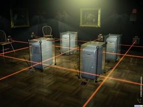 Обои 3D Серверная: , Компьютерные-Фэнтези