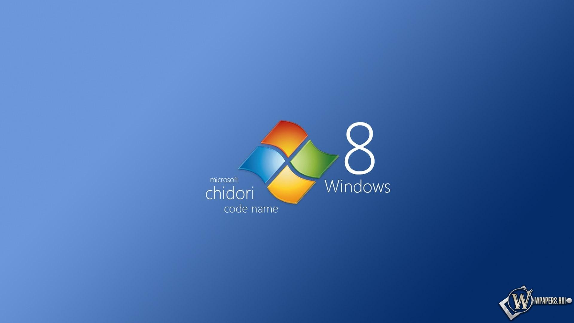 Windows 8 chidori 1920x1080