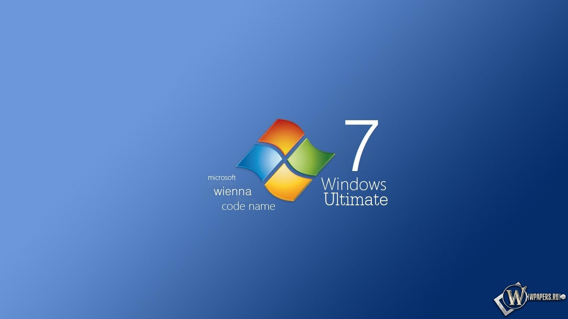 Windows 7 wienna 1920x1080