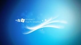 Обои Windows 7: Волна, Windows 7, wave, Windows