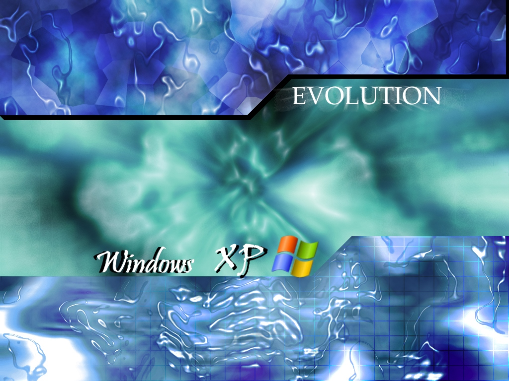 Windows XP Evolution 1024x768