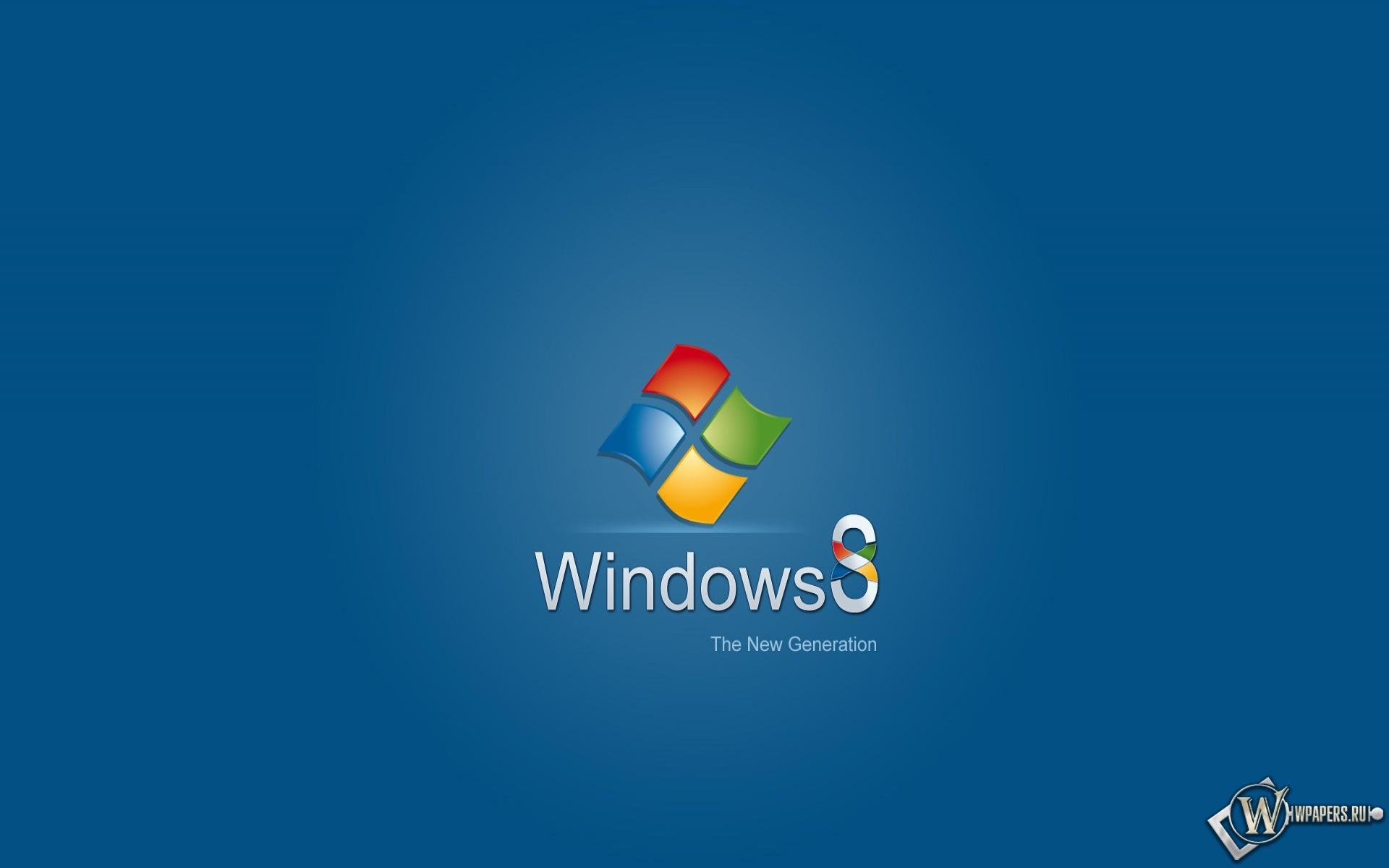 Windows 8 ne generation 1920x1200