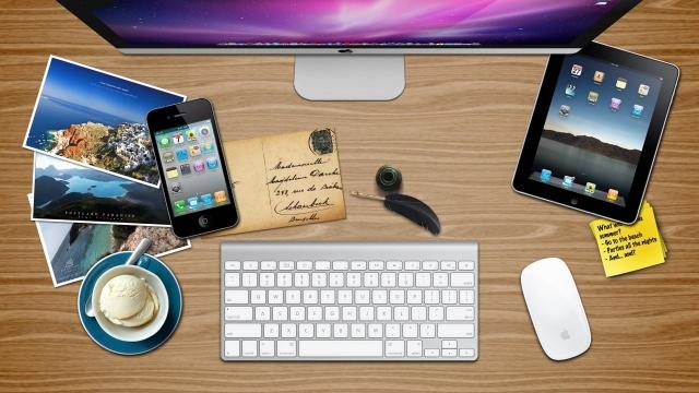 Рабочий стол Apple