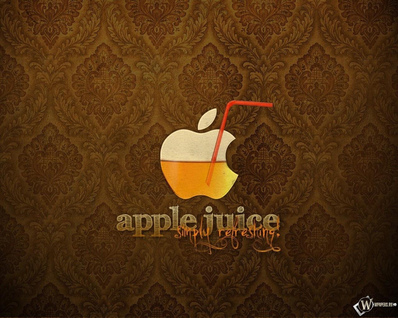 Apple juice 1280x1024