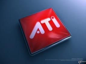 Обои ATI: , Логотипы