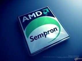 Обои AMD Sempron: , Логотипы