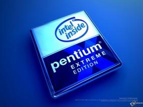 Обои Pentium: , Логотипы