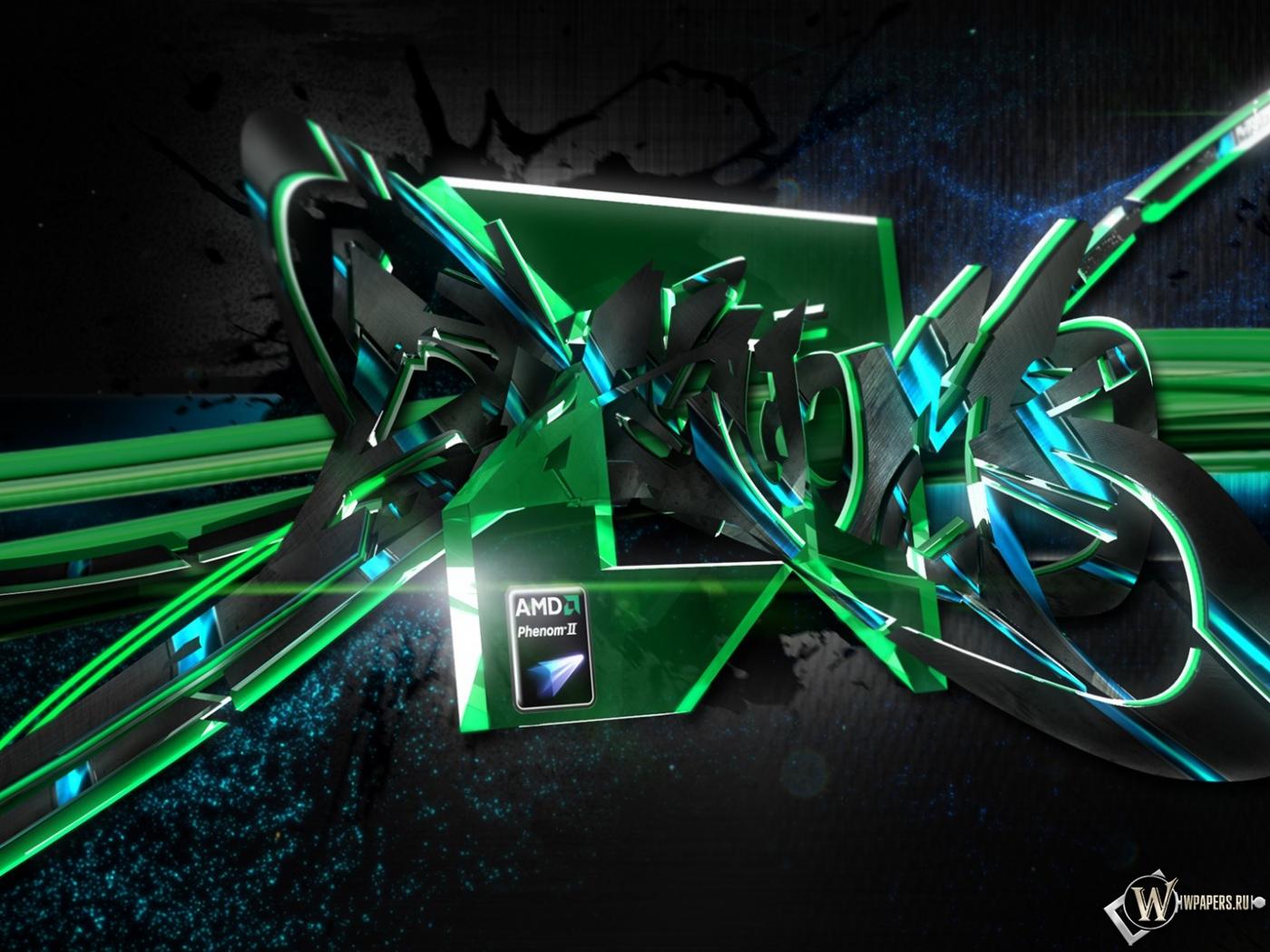 AMD Phenom 1400x1050
