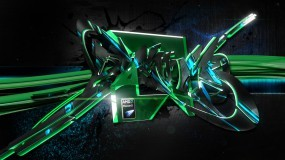 Обои AMD Phenom: AMD, Phenom, Graffiti, Логотипы