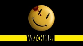 Обои Watchmen: Кровь, Смайлик, Значок, Смотрители, Фильмы