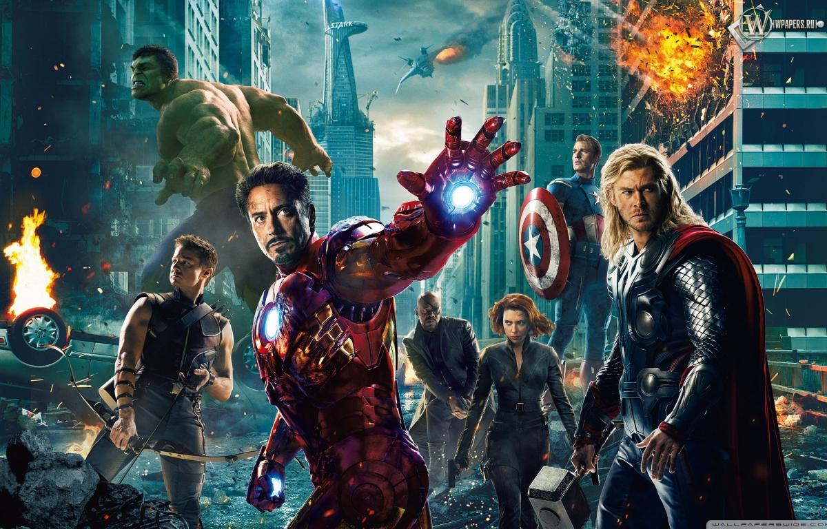 Мстители (The Avengers) 1200x768