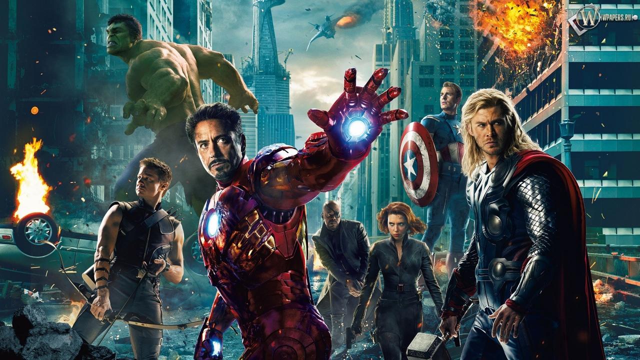 Мстители (The Avengers) 1280x720