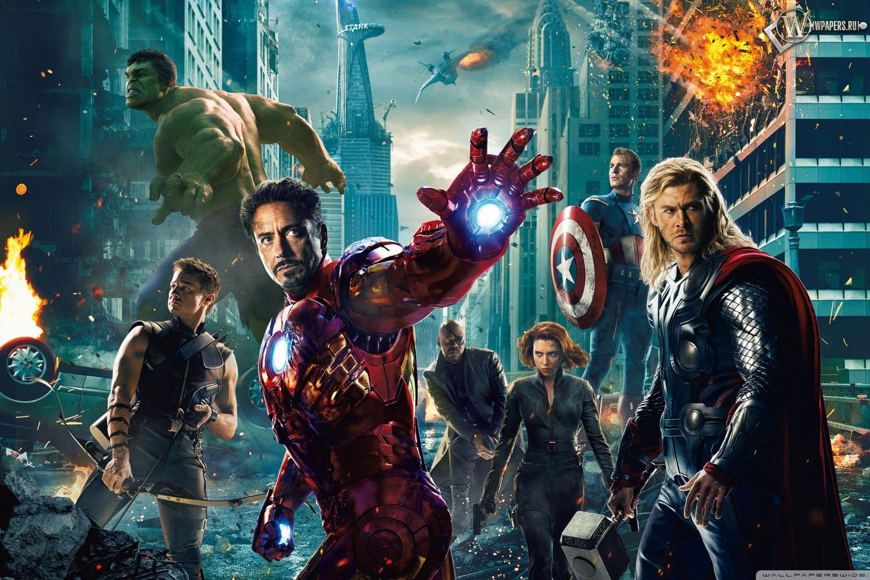 Мстители (The Avengers) 1500x1000