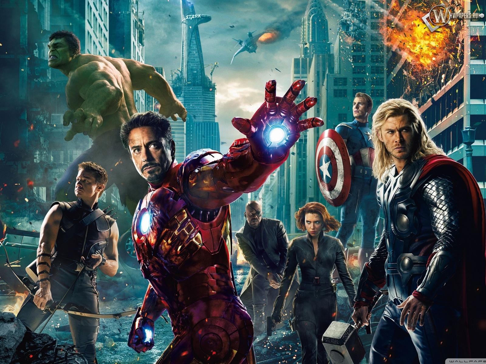 Мстители (The Avengers) 1600x1200