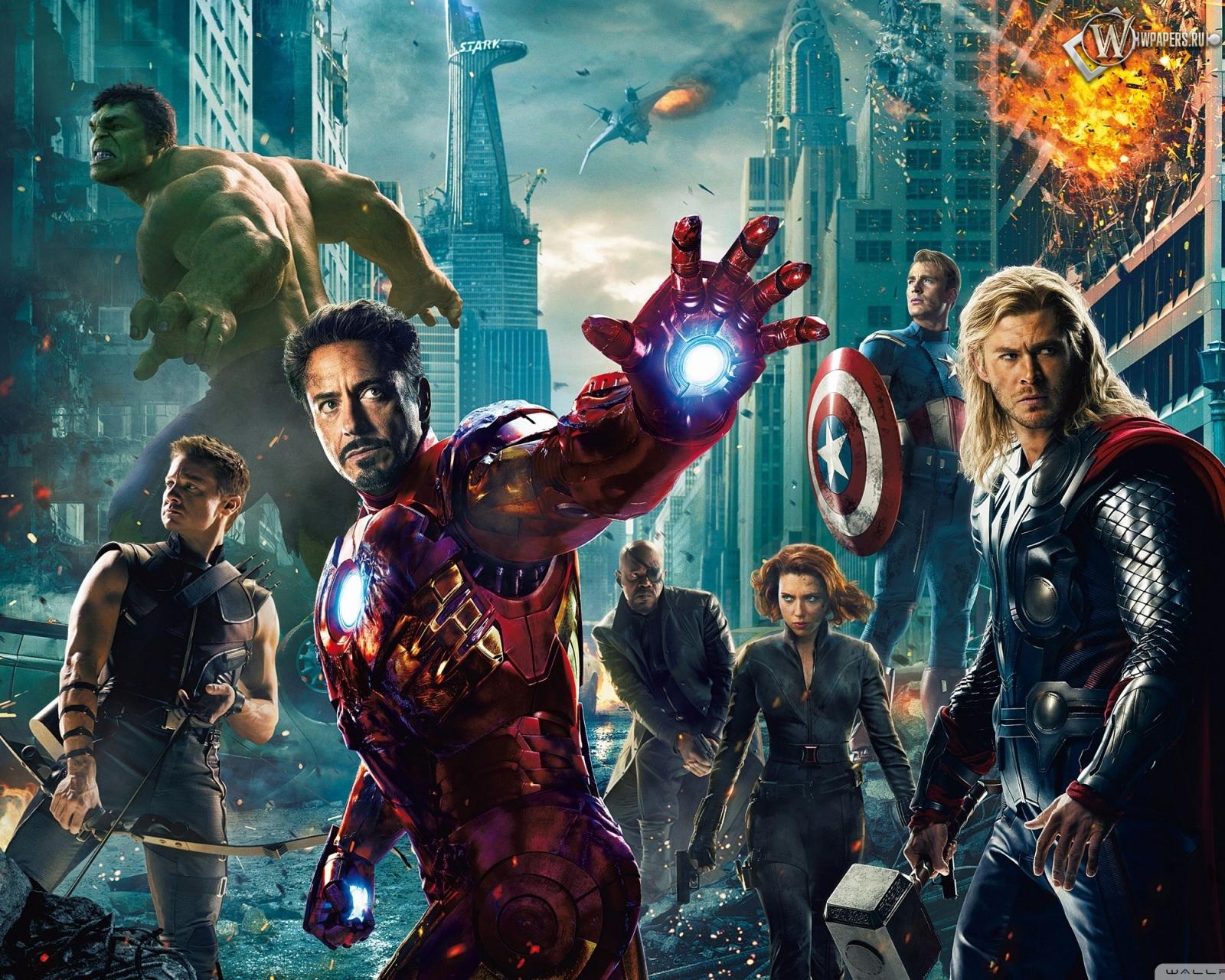 Мстители (The Avengers) 1600x1280