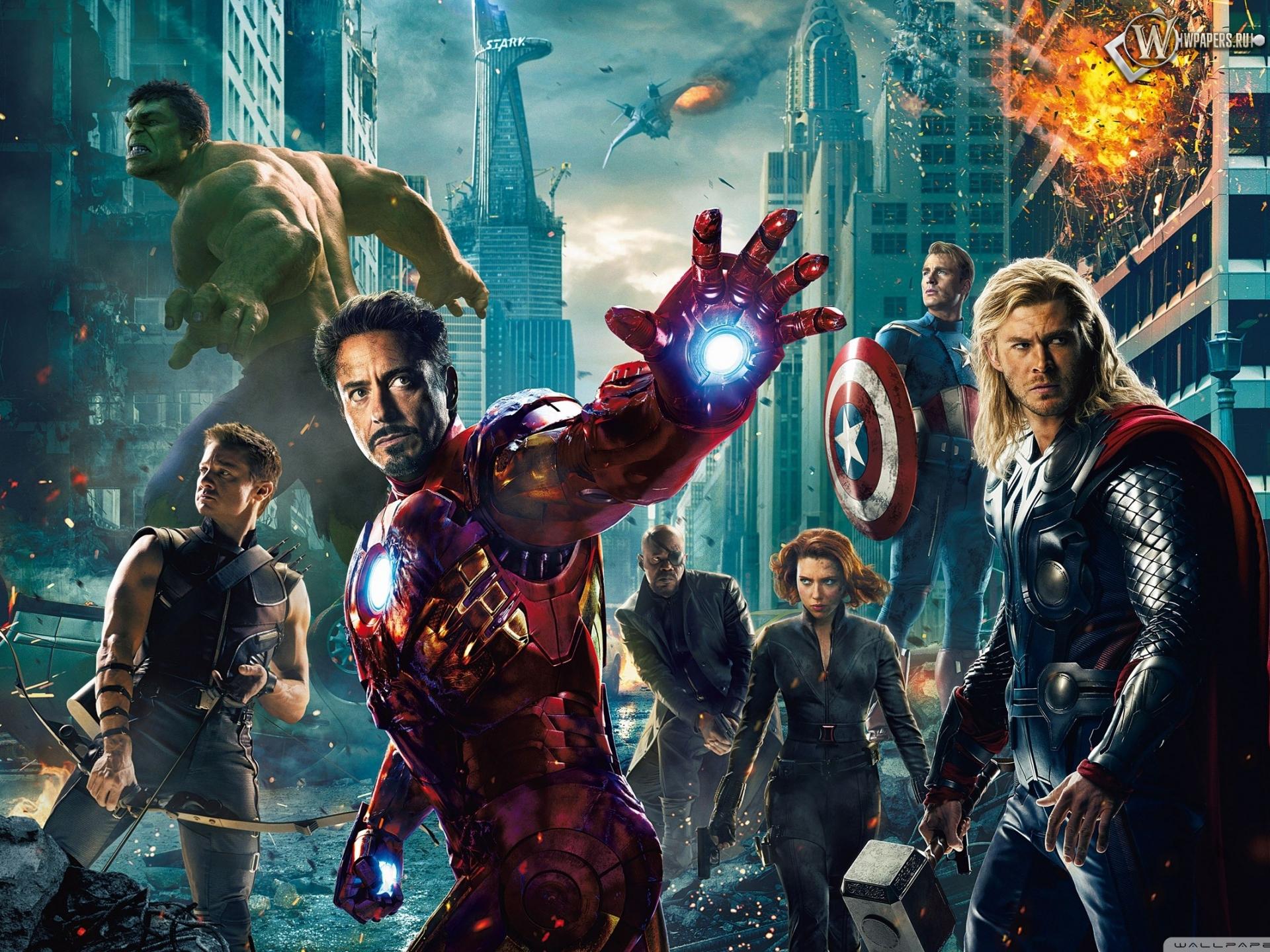 Мстители (The Avengers) 1920x1440