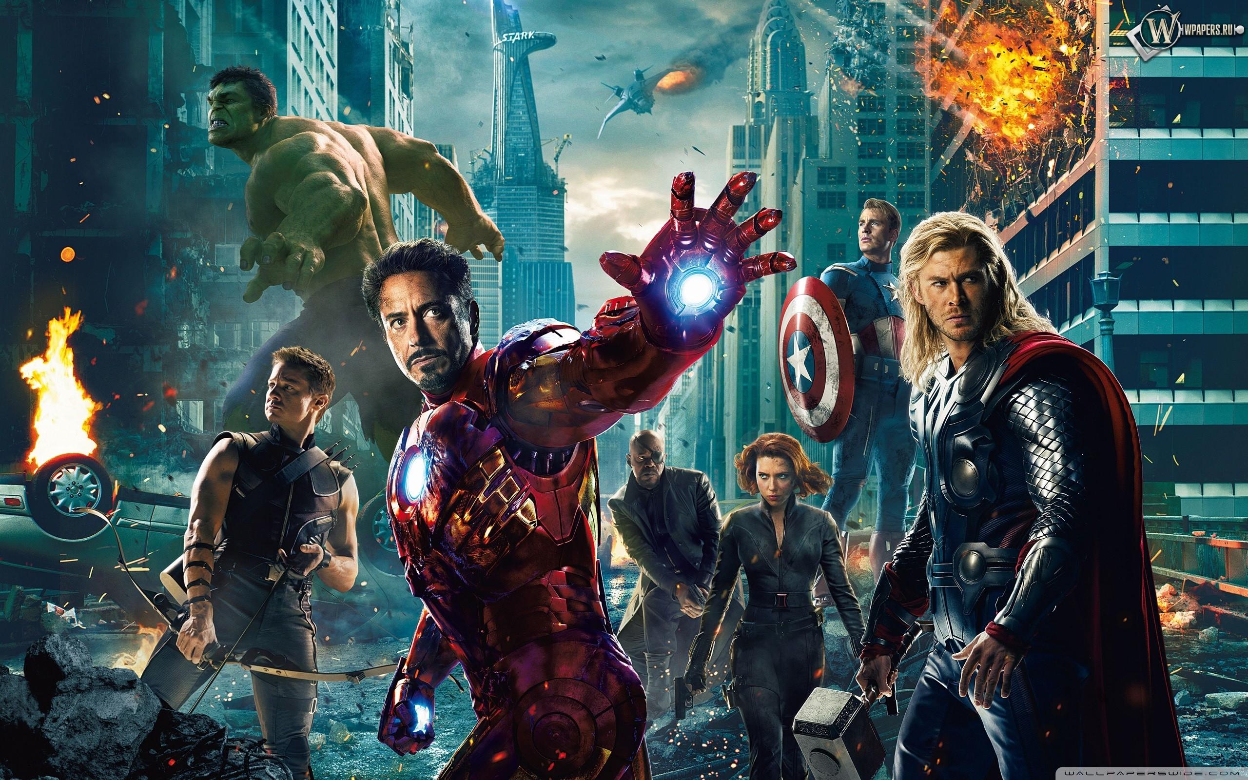 Мстители (The Avengers) 2560x1600