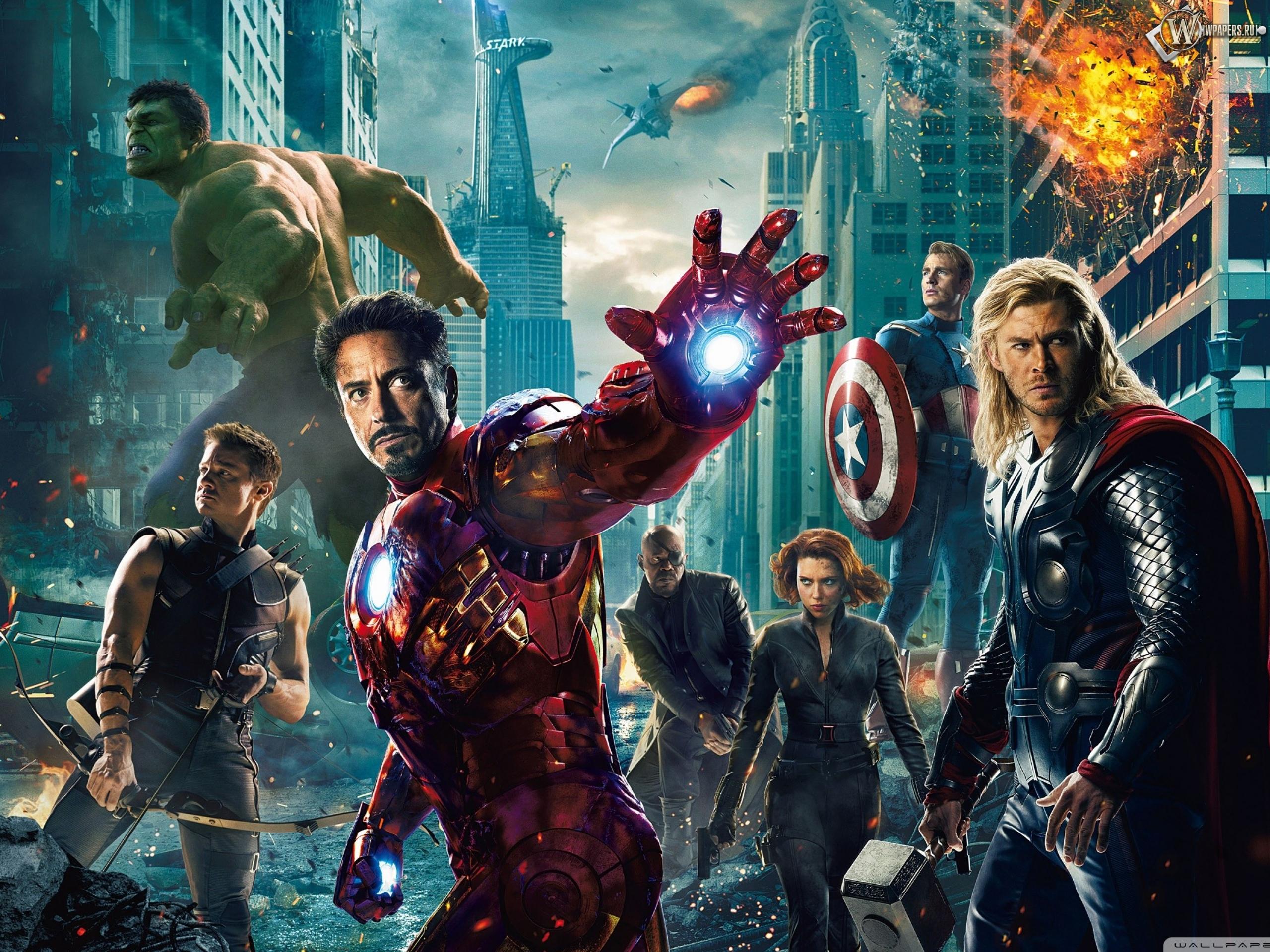 Мстители (The Avengers) 2560x1920