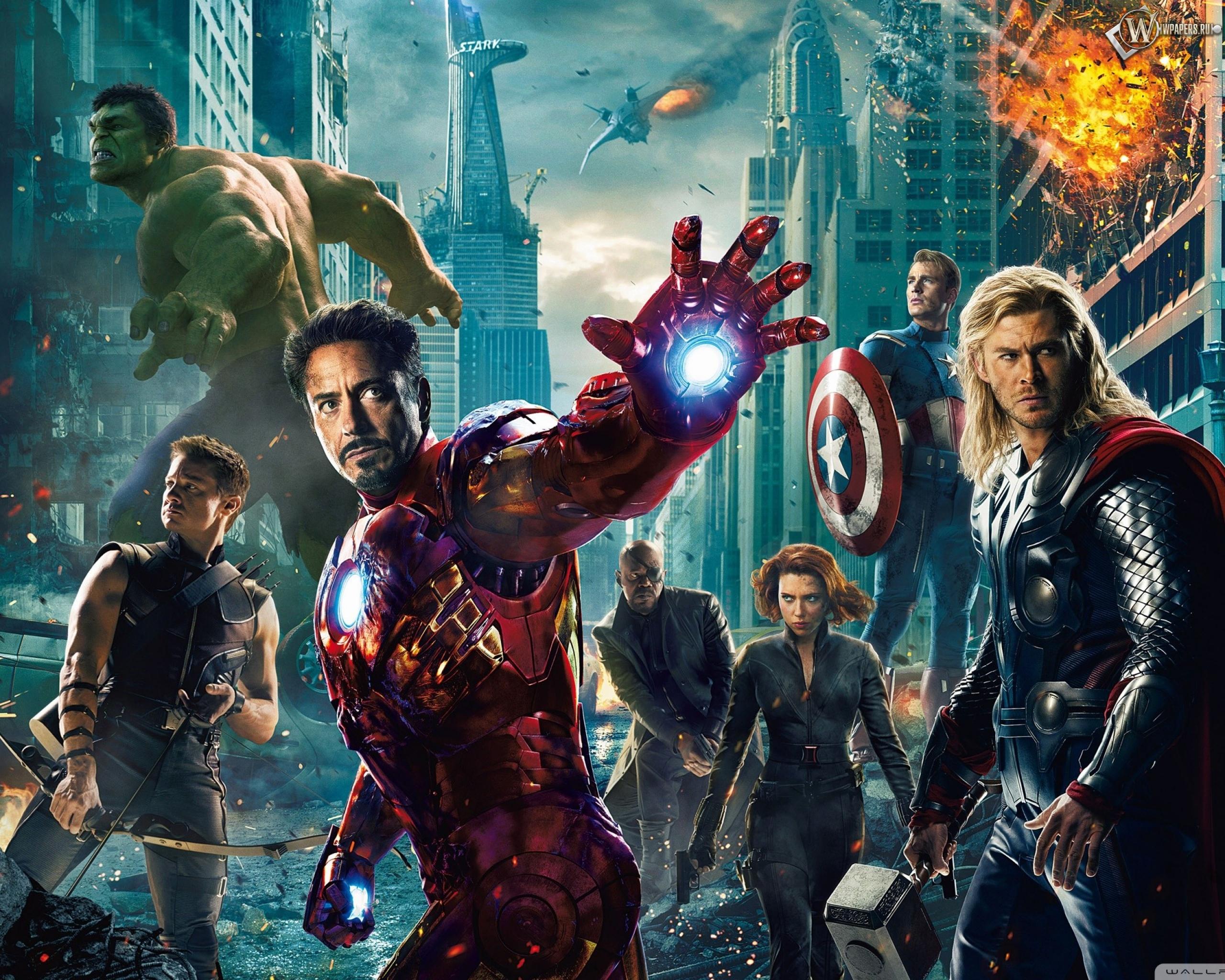 Мстители (The Avengers) 2560x2048