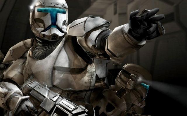 Звёздные войны - солдат республики