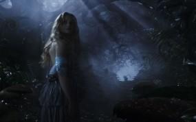 Обои Алиса в Стране чудес Миа Васиковска: Алиса в Стране чудес, миа васиковска, Фильмы