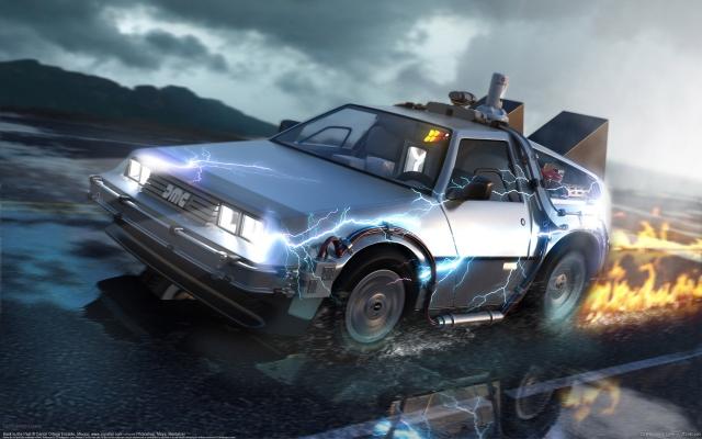 Авто из Назад в будущее