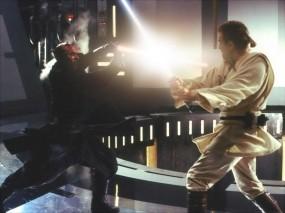 Обои Звёздные войны: Звездные войны, Световой меч, Фильм, Сражение, Фильмы