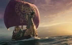 Обои Хроники Нарнии: Море, Корабль, Паруса, Фильм, Фильмы
