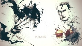 Обои Супермен и Бэтмен: Бэтмен, Супергерои, Супермен, Фильмы
