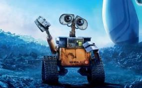 Обои Валли: Робот, WALL-E, Pixar, Animation, ВАЛЛ-И, Фильмы