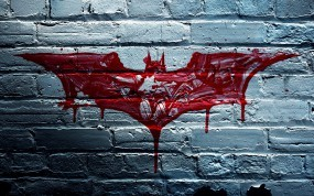 Обои Бэтмэн: Стена, Кровь, Бэтмен, Кирпичи, Фильмы
